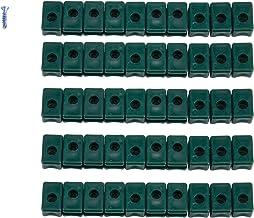 Spanndraht Maschendraht Zaun Spanndrahthalter Pfosten Geflecht Bohr Schraube 25x
