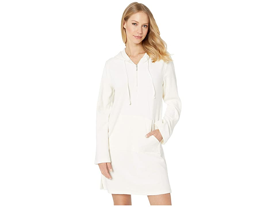 Juicy Couture Microterry Hooded Dress (Angel) Women