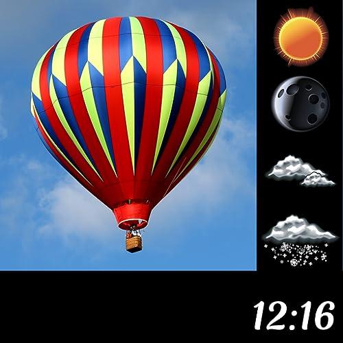 Air Balloon Météo et Horloge