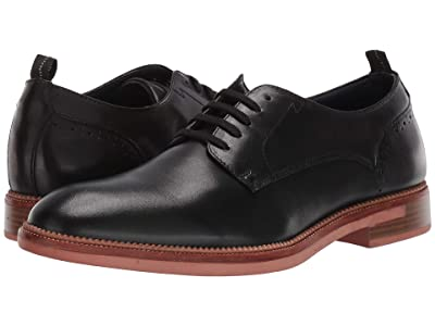 Steve Madden Turnout Oxford (Black Leather) Men