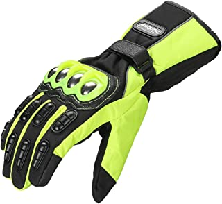 ILM Alloy Steel Motorcycle Riding Gloves Warm Waterproof...