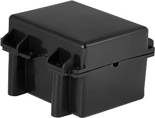 CURT 52027 5-Inch x 3-3/8-Inch x 3-3/4-Inch Watertight Trailer Breakaway Battery Case