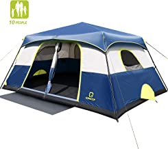 QOMOTOP Camping Tents, 4/6/10 People Instant Set Up...