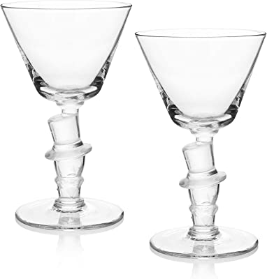 Old Knickerbocker Bar Top Hat Cocktail Glass (Gift Box of 2)