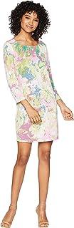 BCBGMAXAZRIA Women's Novelty Knit City Tunic Dress