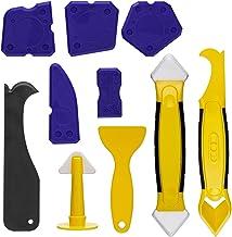LESOLEIL 10PCS Sealant Remover Gladder Silicone Caulking Tool Kit - 3pcs Dichtingsproductverwijderaar, 6pcs Siliconedichti...