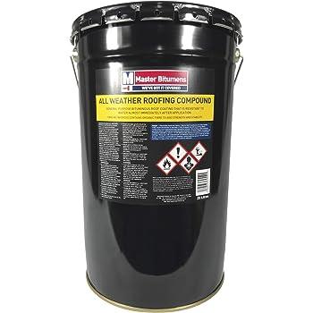 Everbuild 905 Blackjack Bitumen Roof Coat 25 Litre Drum