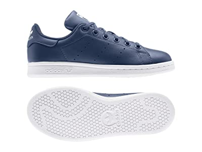 adidas Originals Kids Stan Smith (Big Kid) (Night Marine/White) Boys Shoes