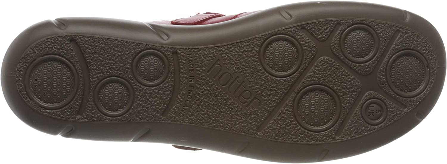 Hotter Womens Shake Wide Fit Mary Jane Flat