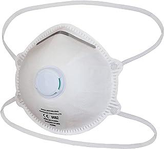 ALPIDEX Mascarilla facial FFP2 Válvula Máscara Respiración Protección Buco-Nasal