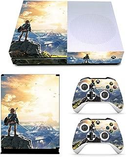 EBTY-Dreams Inc. - Microsoft Xbox One S Slim - Legend of Zelda: Breath of the Wild Video Game Vinyl Skin Sticker Decal Protector