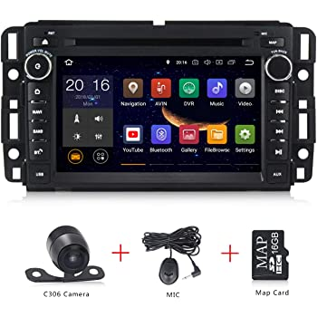 Amazon.com: Android 9.0 Car Stereo 7 inch DVD Player for GMC Chevy  Silverado 1500 2012 Quad Core Double Din in Dash Touchscreen FM/AM Radio  Receiver Navigation with Rear View Camera: GPS & NavigationAmazon.com