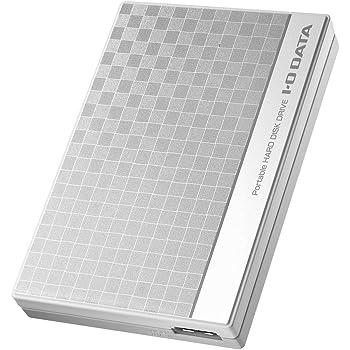 I-O DATA HDD ポータブルハードディスク 1TB USB3.0バスパワー対応 日本製 EC-PHU3W1