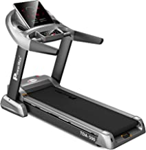 PowerMax Fitness Unisex Adult TDA-500 (6.0 Hp) Motorized Treadmill With Semi Auto Lubrication With 3d Smart Touch Keys For...