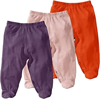 Eco Essential 3-Piece Footie Pants Set