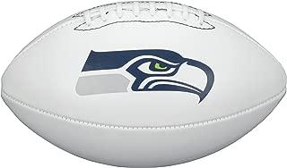 NFL Team Logo Autograph Football