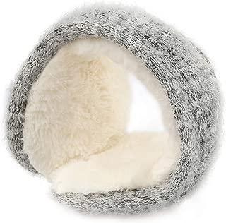 Muuttaa Fleece Winter Earmuffs for Women and Men,Foldable Ear Warmer Soft Ear Cover for Cold Winter