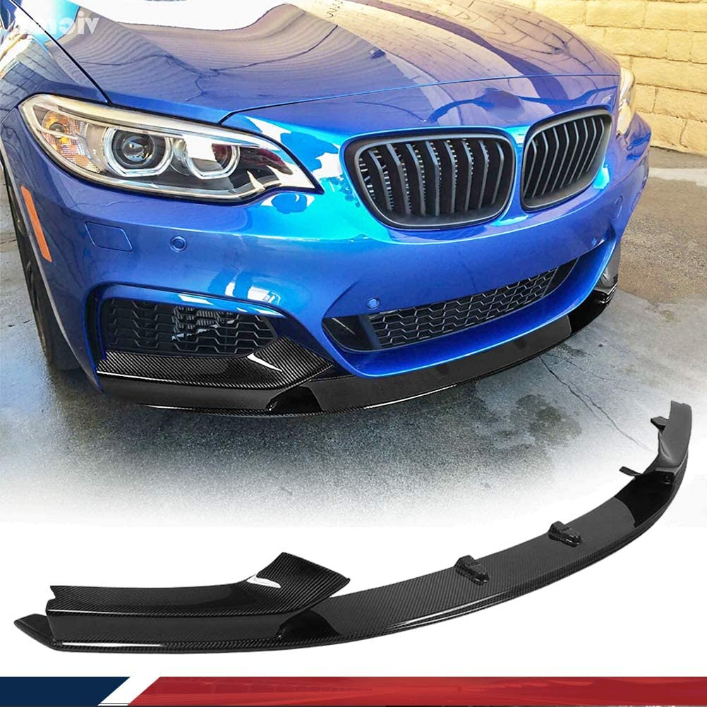 JC SPORTLINE Carbon Fiber Front Lip fits F22 Ranking TOP10 free shipping BMW 22 Series for 2