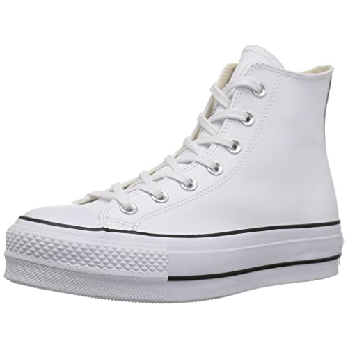 a8338ad0c16 Converse Women s Chuck Taylor All Star Lift Clean High Top Sneaker