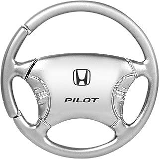 Keychain /& Keyring with Honda Pilot Logo Blue Teardrop