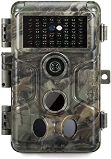 GardePro A3 Trail Camera (2020), 20MP, 1080P H.264 HD Video, Clear 100ft No Glow Infrared Night Vision, 0.1s Trigger Spee...