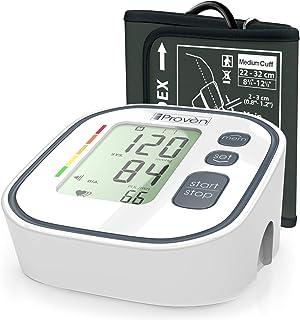 Digital Automatic Blood Pressure Monitor - Upper Arm Cuff - Large Screen - Accurate & Fast