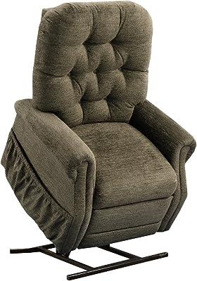 Medlift Encounter Two-Way Reclining Lift Chair, Mushroom