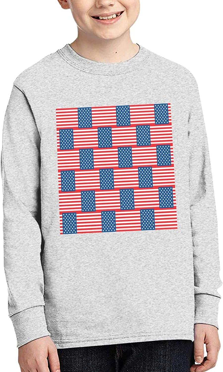 TZT Ranking TOP6 Many American Flag Sweater Comfortable Children' Genuine Fashion and