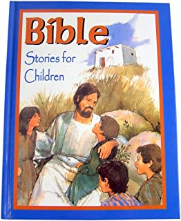 Bible Stories for Children 224 Page Full Color Illustrated Hardcover Book