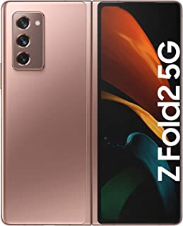 Samsung Galaxy Z Fold2 5G SM-F916B 256GB ROM + 12GB RAM Factory Unlocked Smartphone - International Version (Mystic Bronze)