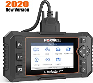FOXWELL NT624 Elite Automotive OBD2 Scanner Full-System Car Code Reader Diagnostic Scan Tool with Oil Light Reset and EPB ...