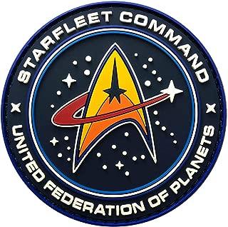 Star Trek Starfleet Command Hook Patch [3D-PVC Rubber-3.0 inch-ST2]