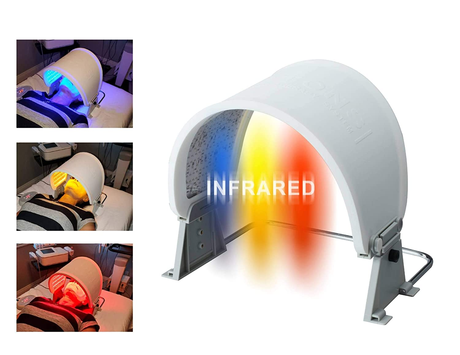 Popular brand 3-color LED Light Photon Therapy Beauty Skin Facial Ranking TOP10 Toning Care