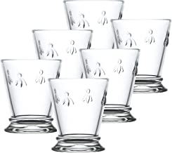 La Rochere Set Of 6,10-ounce Napoleon Bee Tumblers, Clear