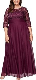 Women's Plus Size Short V Neck Crepe Sheath Cocktail Dress
