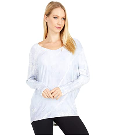 Hard Tail Luxe V-Neck Tee (Storm Wash # 2) Women