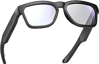 عینک آفتابی صوتی ضد آفتاب آفتاب OhO ، هدفون بلوتوث بالای گوش با میکروفون داخلی ، UV400 عینک سالم مانع از عینک سالم برای بازی ، خواندن و رایانه