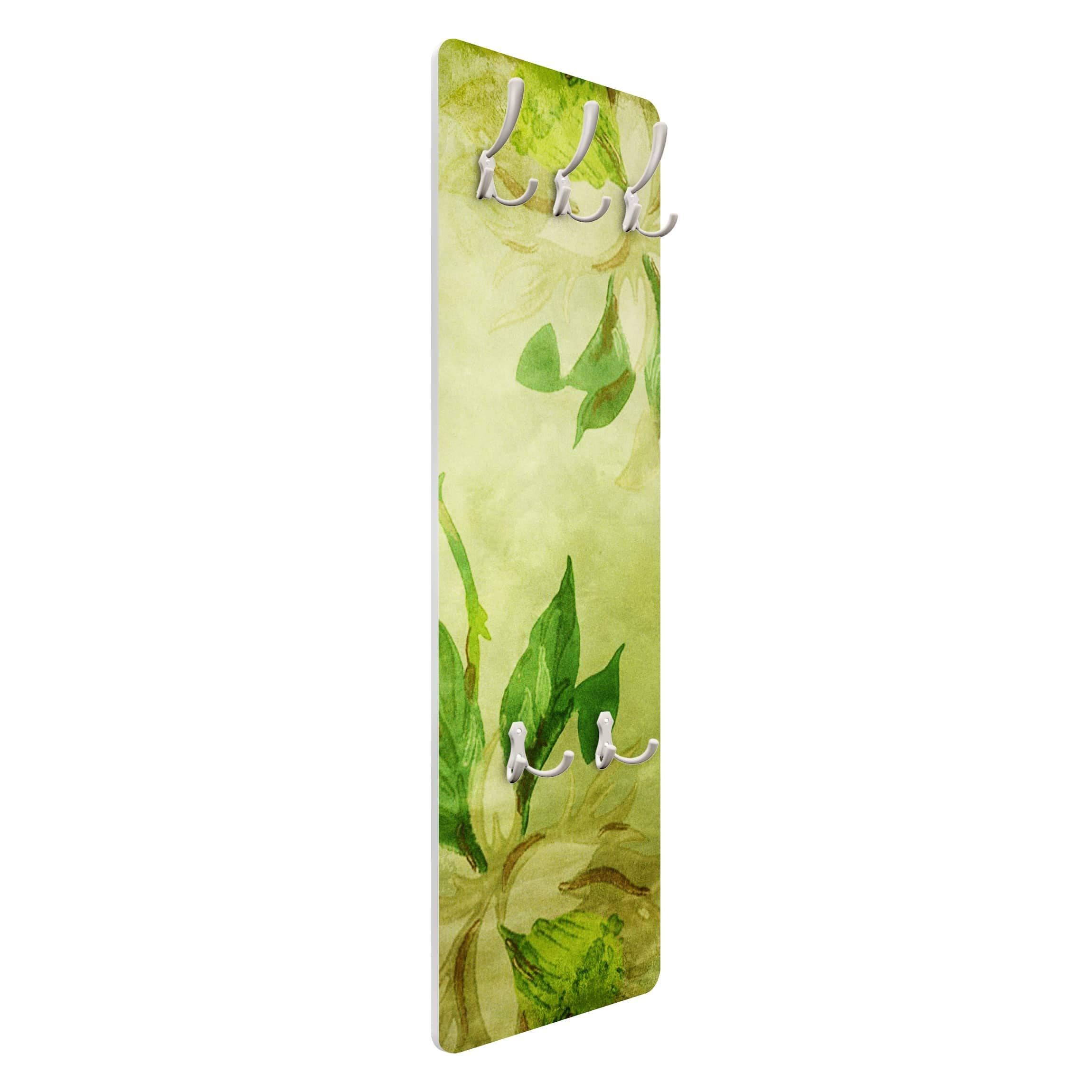 Valet /d/élicates orchid/ées 139/x 46/x 2/cm Portemanteau Porte-Manteau Dimensions Hxl: 139/cm x 46/cm Porte-Manteau Portemanteau/ Portemanteau Coatrack