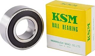 KSM 5205-2RS 3205-2RS Japanese Precision Double Row Angular Contact Ball Bearing 25x52x20.6