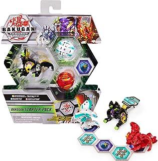 Bakugan Starter Pack mit 3 Armored Alliance Bakugan (Ultra Hydorous x Trhyno, Basic Haos..