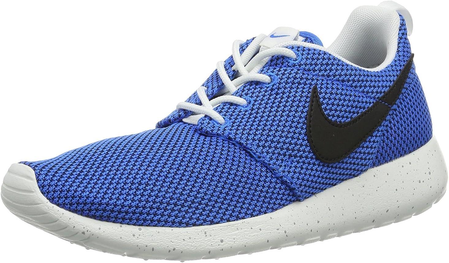 Nike Boys Rosherun (GS) Youth Running Shoe - Blue (5.5)