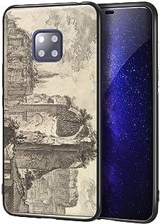 Giovanni Battista Piranesi Huawei Mate 20 Pro用ケース/ファインアート携帯電話ケース/高解像度ジクレーレベル複製プリント、携帯電話カバー(の Temple Of 金星 そして Roma Erroneo...