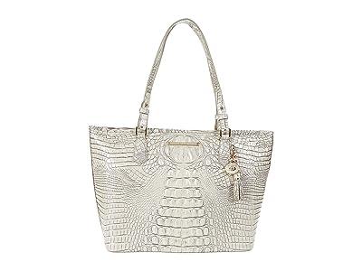 Brahmin Melbourne Medium Asher Bag (Moonrise) Tote Handbags