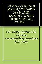 US Army, Technical Manual, TM 5-4120-386-14, AIR CONDITIONER HORIZONTAL, COMPACT, 9,0 BTU/HR, 208 VOLT, 50/60 HERTZ, THREE-PHASE, MODEL ECU-9HC326, (NSN 4120-01-193-4998), military manuals