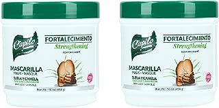 Capilo Suela y Canela Hair Conditioner 16oz Pack of 2