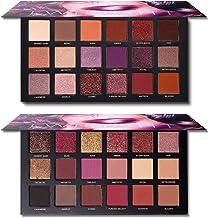UCANBE 2 Twilight Dust Eyeshadow Palette Makeup Set (01+02), Natural Matte Shimmer Glitter Highly Pigmented Long Lasting E...
