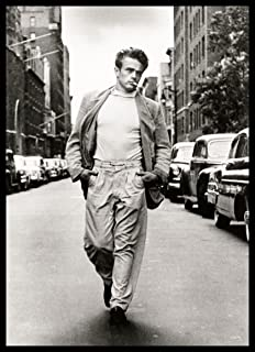 James Dean 3.5x5 FRIDGE MAGNET Magnetic Poster Canvas Print