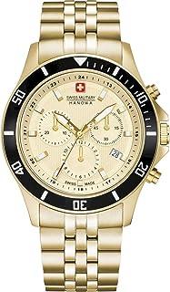 Swiss Military Hanowa - Reloj Analógico para Unisex Adultos de Cuarzo con Correa en Acero Inoxidable 06-5331.02.002