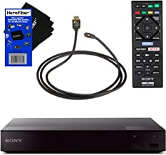 Sony BDPS6700 4K Upscaling Blu-ray Disc Player with Built-in Wi-Fi + Remote Control + Xtech High-Speed HDMI Cable with Eth...