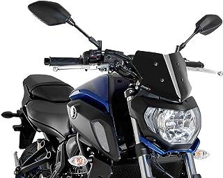 Monland Parabrisas Parabrisas para MT-07 FZ-07 2018 2019 2020 Accesorios de Moto Deflectores de Viento Pare-Brise MT07 FZ07 MT FZ 07
